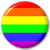 Big Cheese Badges Rainbow Flag Png PNG Images