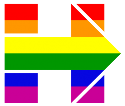 Hillary For America Pride Rainbow Flag Png