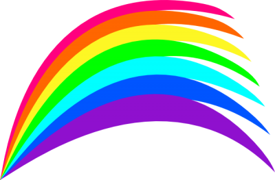 New Rainbow Clipart At Pic PNG Images