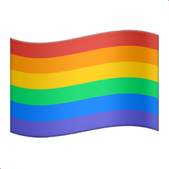 Rainbow Flag And Apple Pictures PNG Images