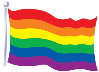 Rainbow Flag Transparent Images