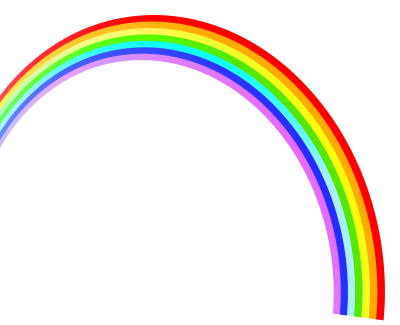 Rainbow Transparent Image PNG Images