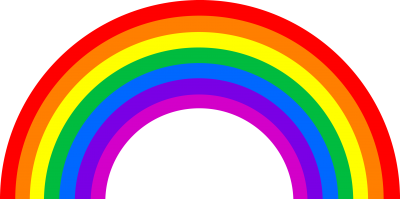 Rainbow Cut Out PNG Images