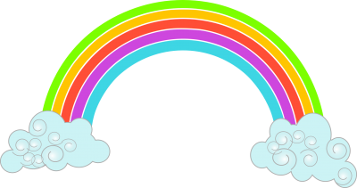 Rainbow Free Cut Out PNG Images