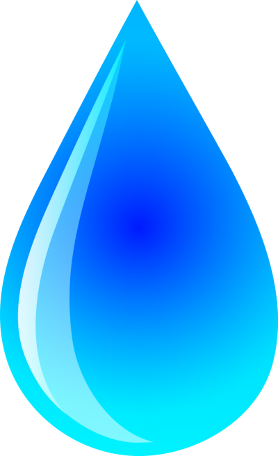 Blue Raindrops Png Pictures