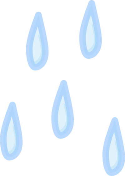 Classical Raindrops Png PNG Images