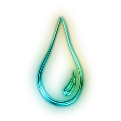 Elongated Raindrop Icon Png
