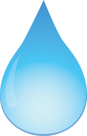 Simple Raindrops Png