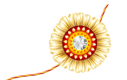 Flowers Rakhi Png Transparent
