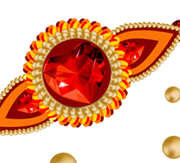 Red Rakhi Png Photo PNG Images