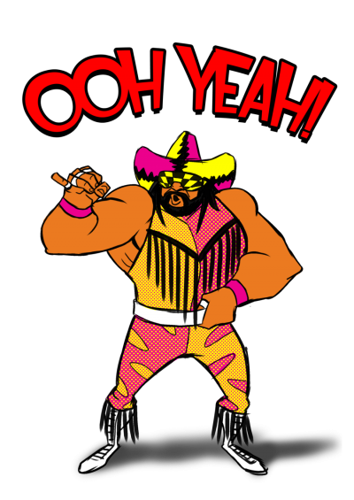 Randy Savage Vector PNG Images