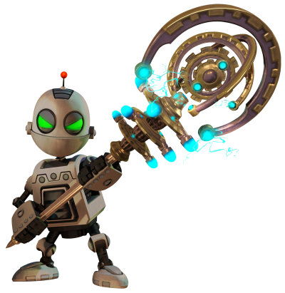 Ratchet Clank HD Clipart PNG Images