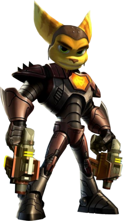 Transparent Picture Ratchet Clank