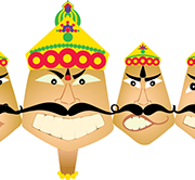 Men Ravana Png Transparent PNG Images