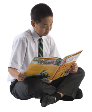 Reading Clipart images, Chinese Boy, Magazine PNG Images