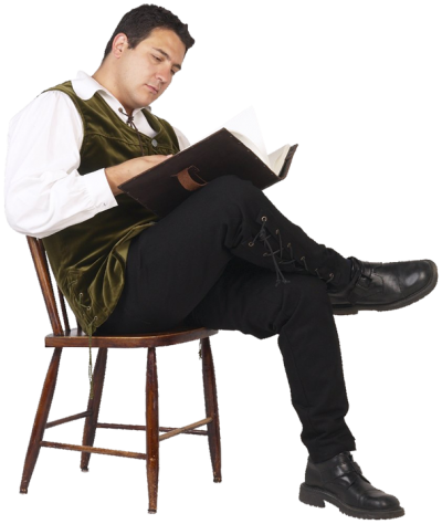 Real Man, Reading Transparent Png Free Download,book PNG Images