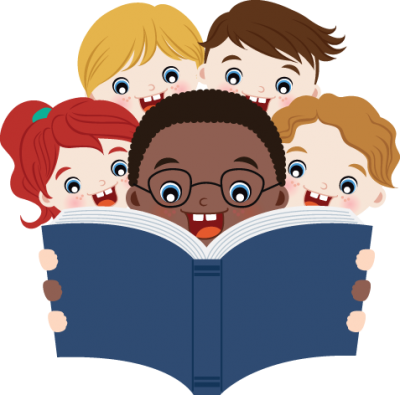 Happy Books Kids, Reading Transparent Photos Clipart PNG Images