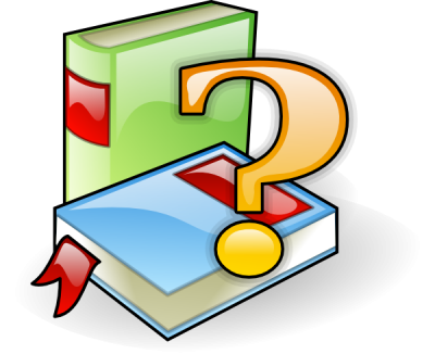 Animation Books Reading Hd Clipart, Question Mark PNG Images