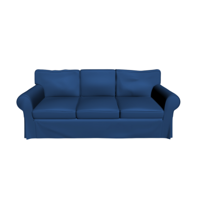Blue Ektorp Sofa Recliner Png