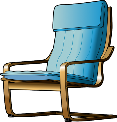 Chair, Cartoon, Furniture, Seat, Recliner Png
