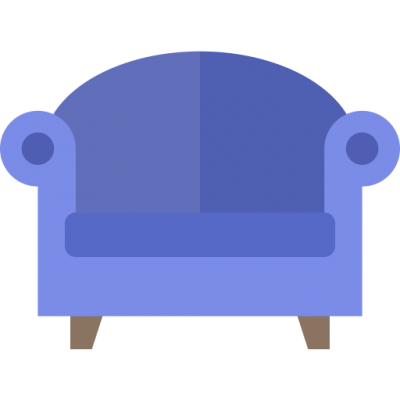 Purple Couch Icon Png PNG Images