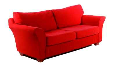 The Amazing Red Sofa Recliner Png PNG Images