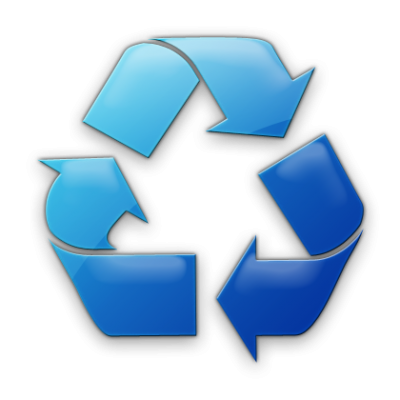 Blue Recycle Icon Png Images