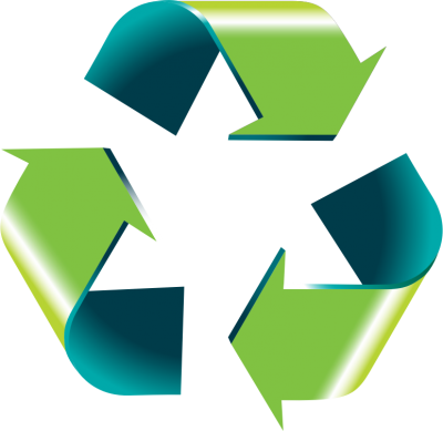 Green, Blue, Recycle Png Clip Art