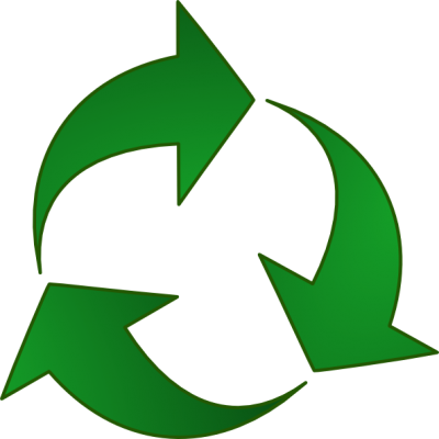 Green Recycle Arrows Clip Art At Pic PNG Images