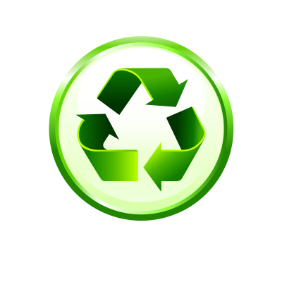 Green, Recycle Logo Png Clipart Image