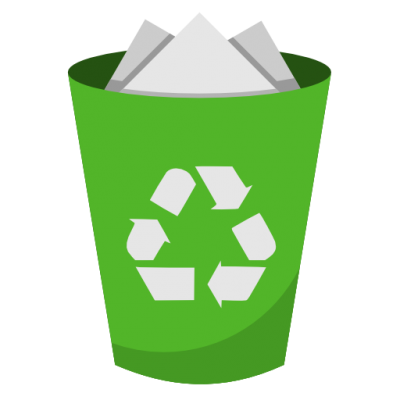 System Recycling Bin Full Icon Png PNG Images