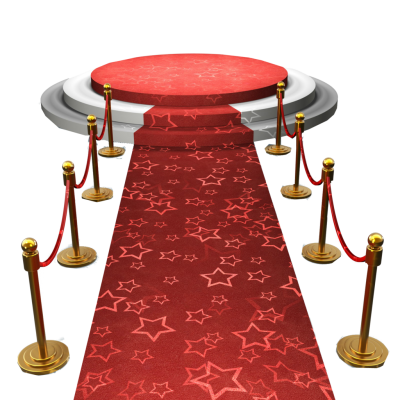 Red Carpet Stage Png PNG Images