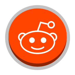 Reddit Color Social Media Icons Png Image