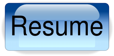 Resume Buttond Image PNG Images