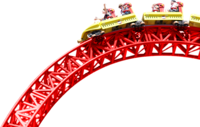 Fun Fair Roller Coaster Png PNG Images