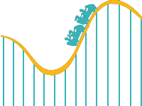 Personal Roller Coaster Png PNG Images