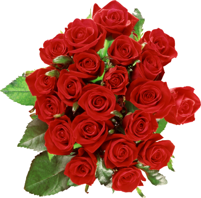 Bouquet Roses Flowers PNG Images