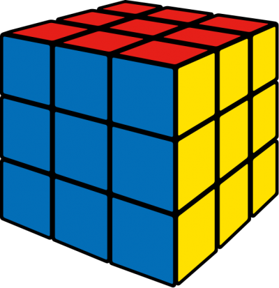 Rubiks Cube Mind Game Background