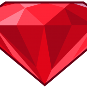 Bright Ruby Stone Png Transparent Images