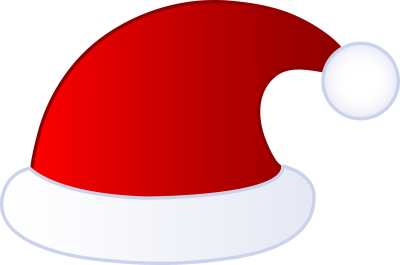 Santa Hat Cut Out 14 PNG Images