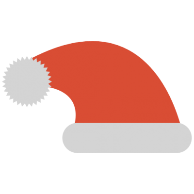 Santa Hat Transparent Background PNG Images