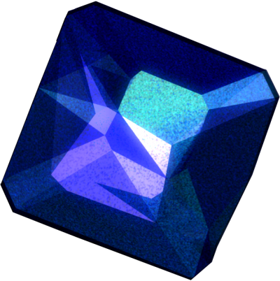 Dark Sapphire Stone Png Transparent Image