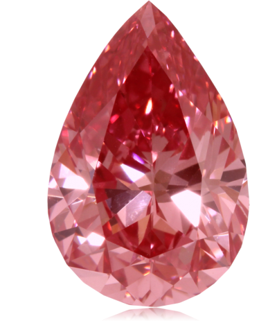 Gold Crystal Red Sapphire Stone Png PNG Images