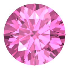 Pink Gold Ring With Sapphire Stone Png PNG Images