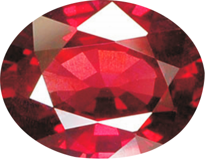 Ruby Stone Png Transparent Image