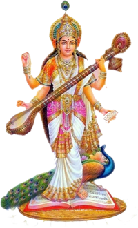 Saraswati Without Background PNG Images