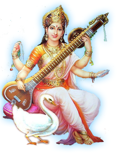 Lord Saraswati HD Photo Png PNG Images