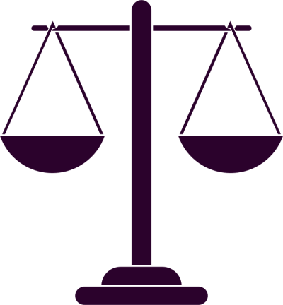 Justice Scales Silhouette Pictures PNG Images