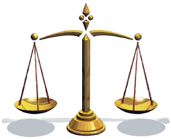 Scale Of Justice Gold Images PNG Images