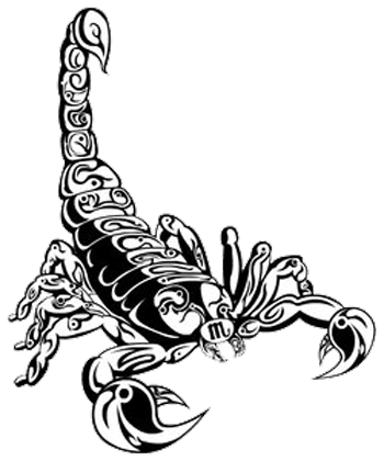 Clipart Scorpion Tattoos Transparent